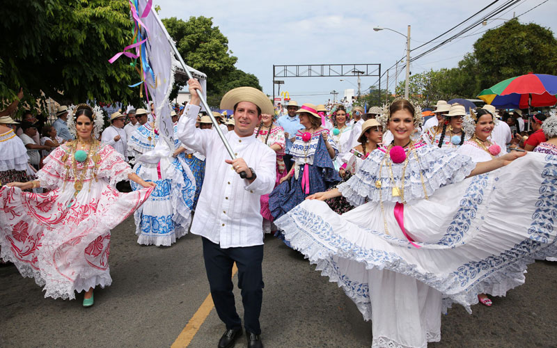 THE COLORFUL MIL POLLERAS PARADE 2020